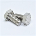 DIN933 A2-70/A4-80 stainless steel Plain Hex bolts